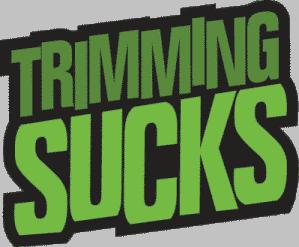 trimming sucks logo
