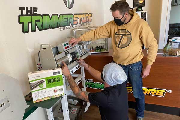 trim machine rental consulting denver